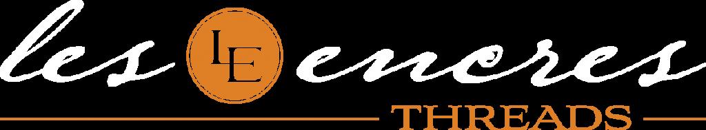 Les Encres Logo White